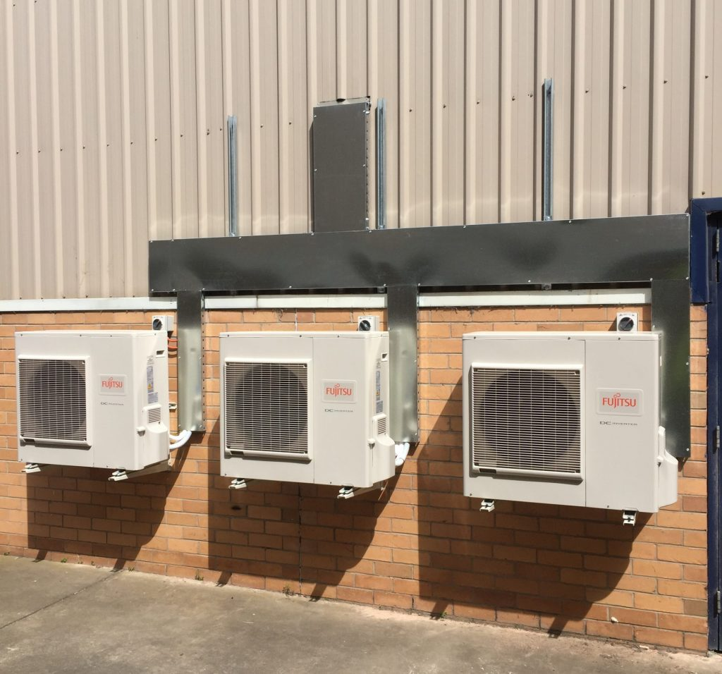 heating and cooling - commercial electrical services
