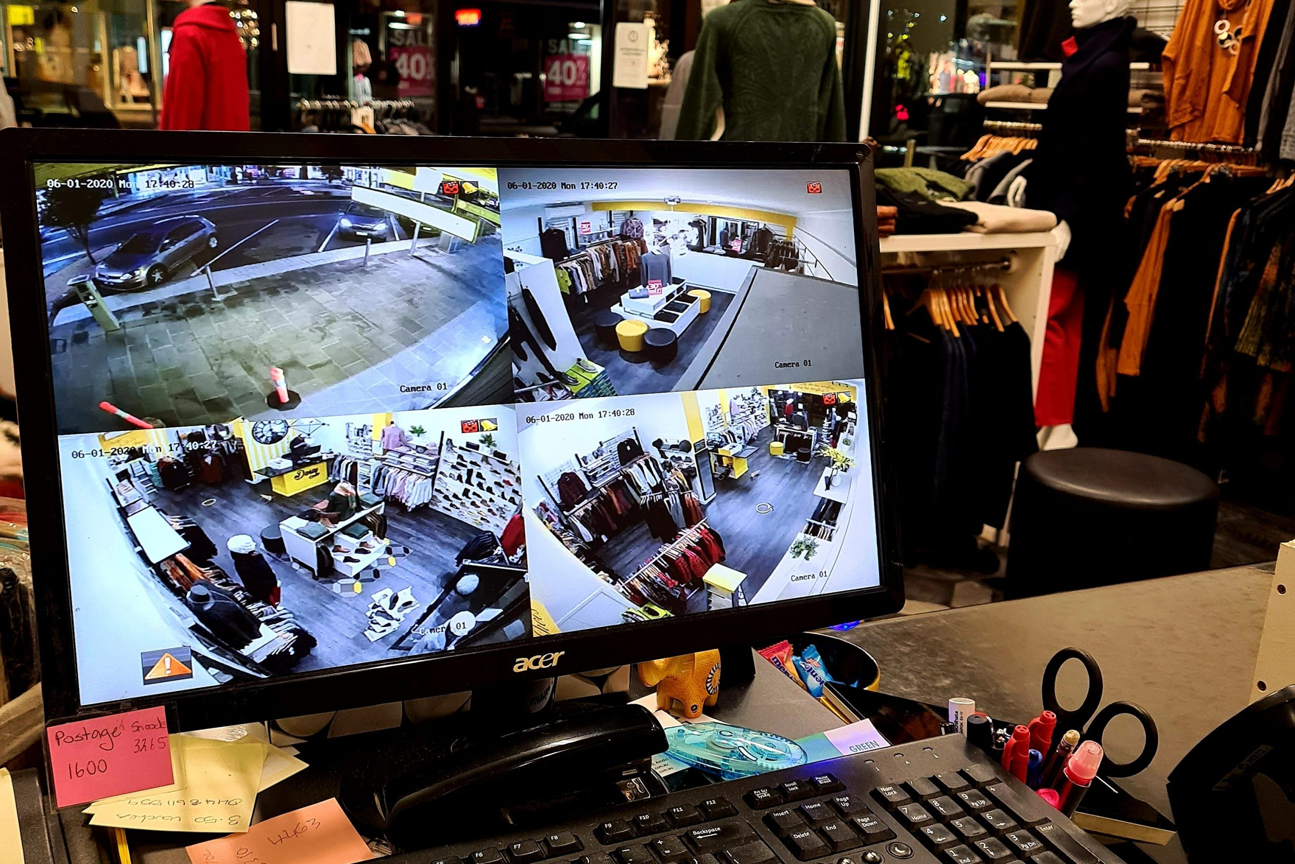 Security cameras installed in Warrnambool business