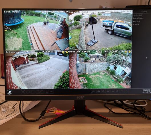 Warrnambool residential security camera system